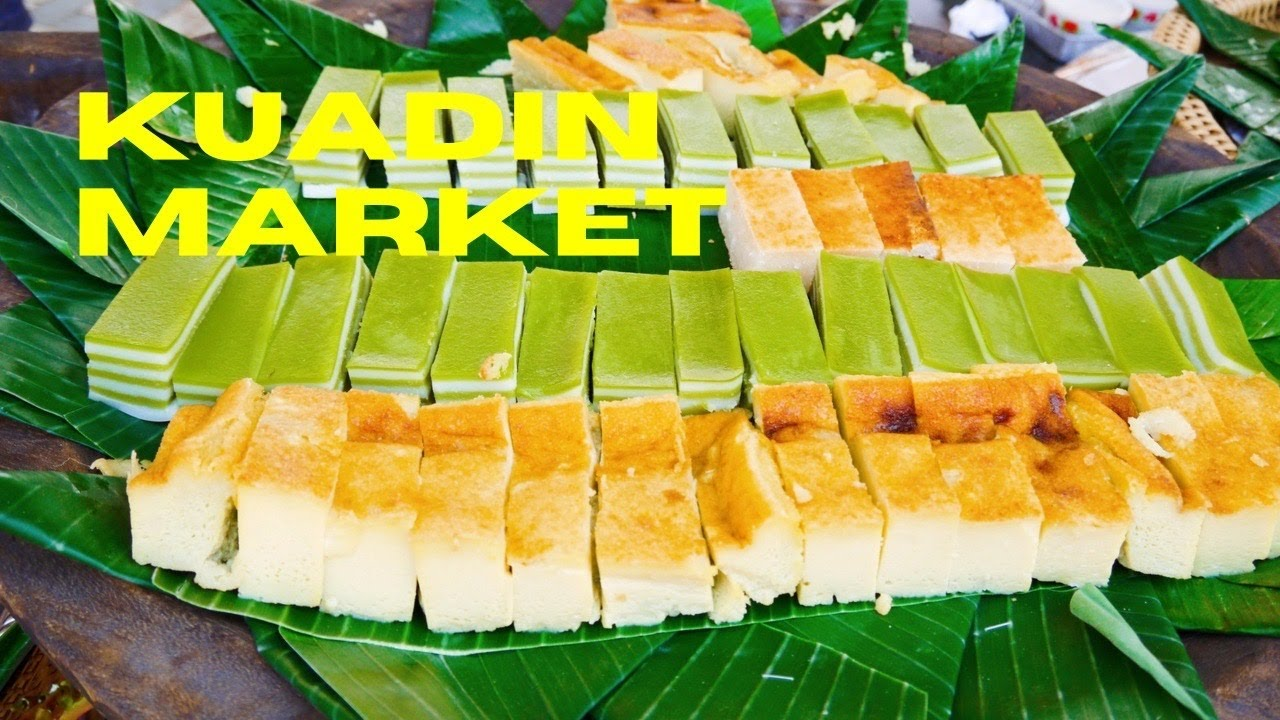 Food Market Vientiane
