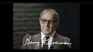 Benny Goodman - 1981 Interview