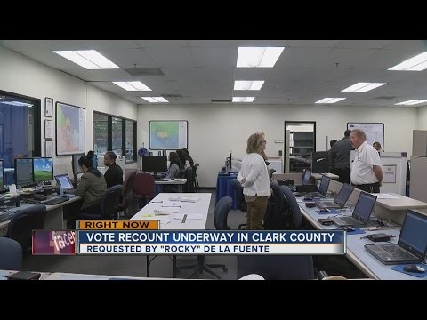 Clark County begins recount after candidate