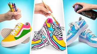 Surprise Your Friends With Custom Sneakers