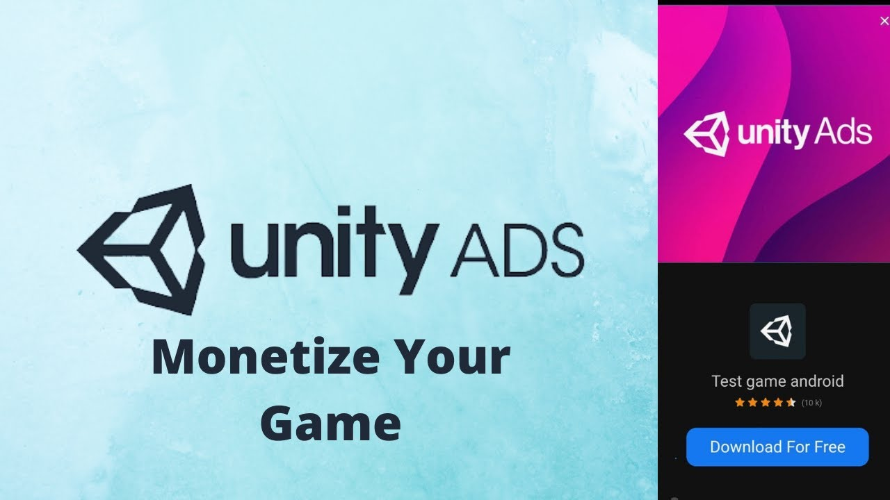 How to Monetize Your Game using Unity Monetization   Unity Ads Services Tutorial 2021