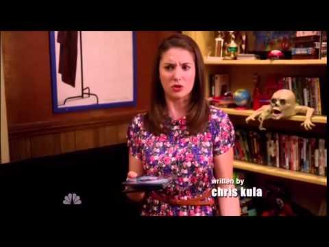 Community - Annie smashes Abed's Batman DVD