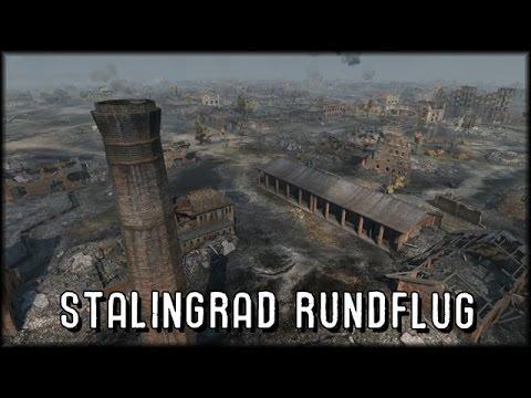 World of Tanks - Stalingrad Map - Preview: Rundflug - YouTube