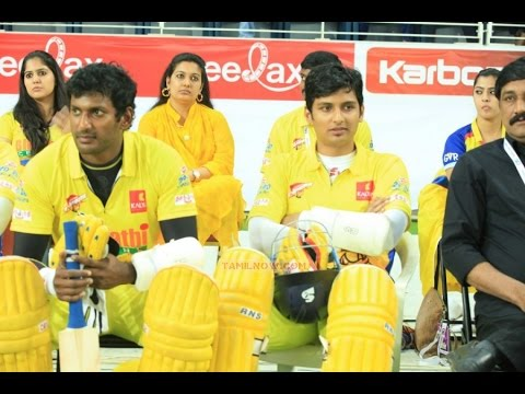 Vishal quits CCL, Jiiva takes over the captain position? | Hot Tamil Cinema News