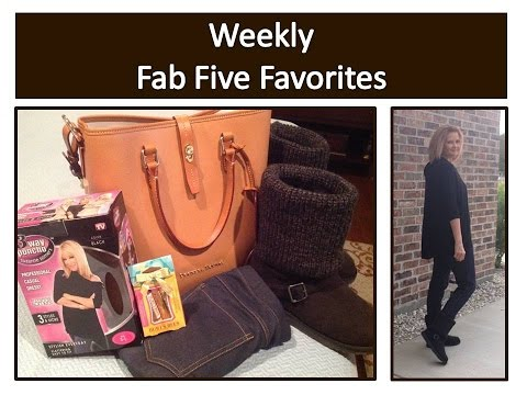 weekly-fab-five-favorites,-burt's-bees,-dooney-&-bourke,-suzanne-somers-poncho,-no-nonsense-leggings