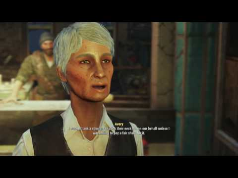 Fallout 4 Far Harbor - Safe Passage: Captain Avery (Need Help With Fog Condensers) Dialogue Tree PS4