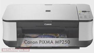 Принтер Canon МП250 навчальне відео