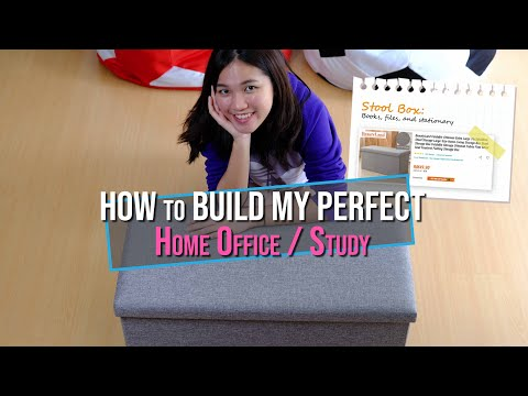 How to Build My Perfect Home Office & Study