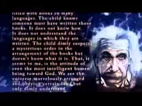 "Albert Einstein on God ""The Creator"""
