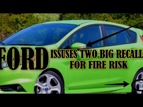 [HOT NEWS] Ford Issues Two Big Recalls For Fire Risk, Door Latches