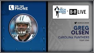 Panthers TE Greg Olsen Talks Retirement, 2019 Outlook, Gronk & More with Rich Eisen | Full Interview