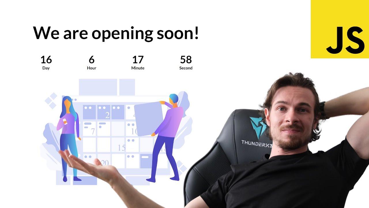Simple JavaScript Countdown Tutorial