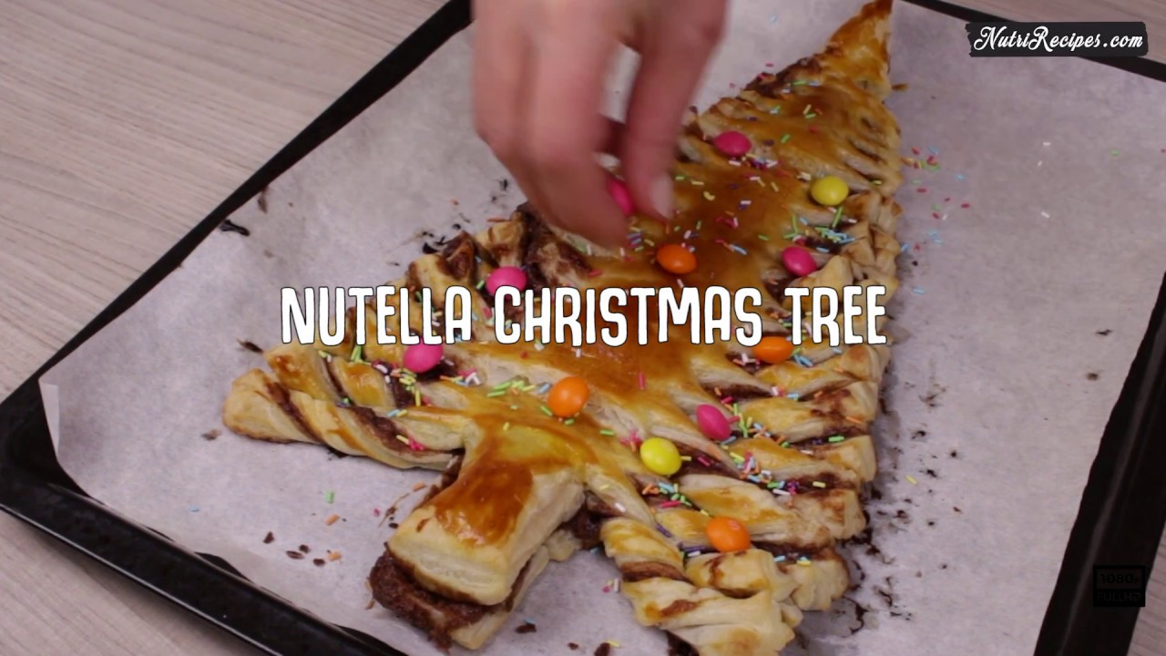 nutella christmas tree youtube