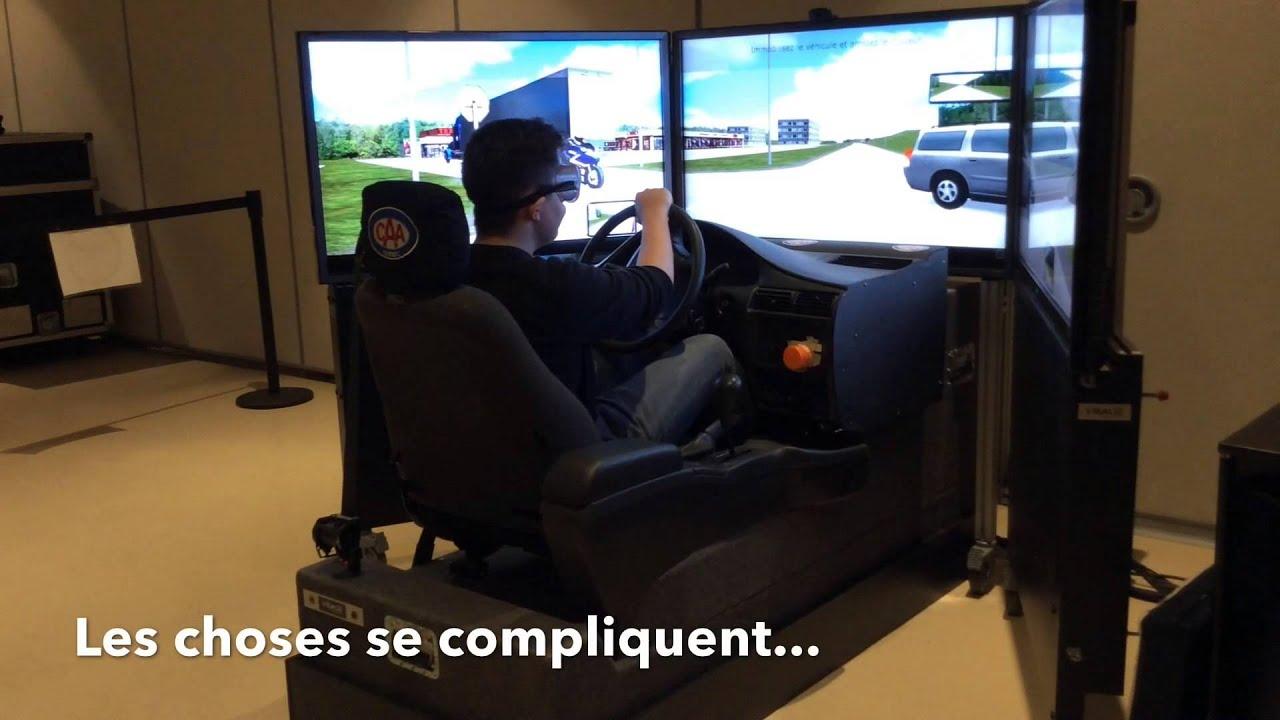 atelier simulateur de conduite au cimf youtube. Black Bedroom Furniture Sets. Home Design Ideas