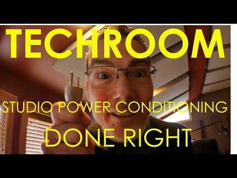 Studio Power Conditioning - Done Right