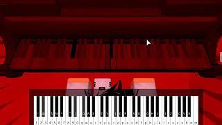 Piano RobloxMD Billie Eilish - Copycat COMPLET (Notes dans la description)