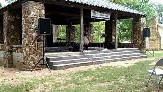 Samantha Baggett performing I'll Fly Away Gospel Blues Version