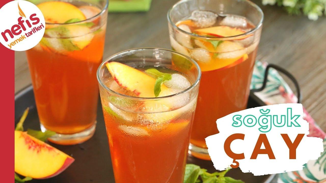 Daha İyisi Yok! 🙌🏻 Ev Yapımı Soğuk Çay | Şeftalili Ice Tea 🍑