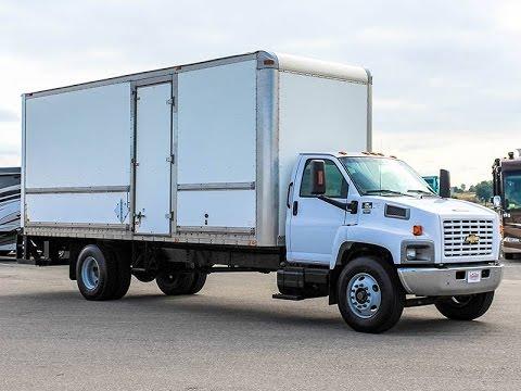 2005 Chevrolet C7500 Box Truck Stock 5u160655 Transwest Trailer Rv