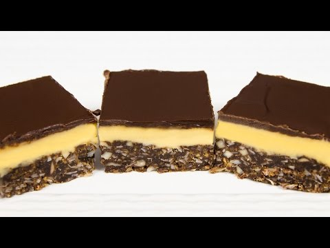 Nanaimo Bars Recipe From Cookies Cupcakes And Cardio
