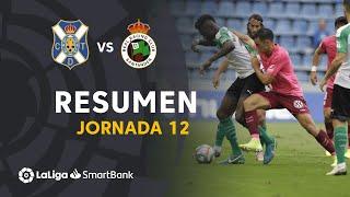 Resumen de CD Tenerife vs Real Racing Club (3-3)