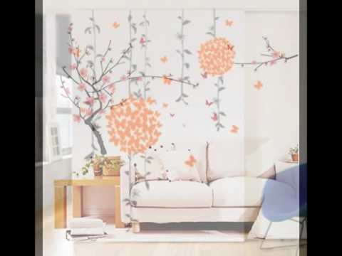 DeStudio Leaf Vines With Cage, Multi Color, Wall Stickers (Wall Covering Area : 130cm X 120cm)