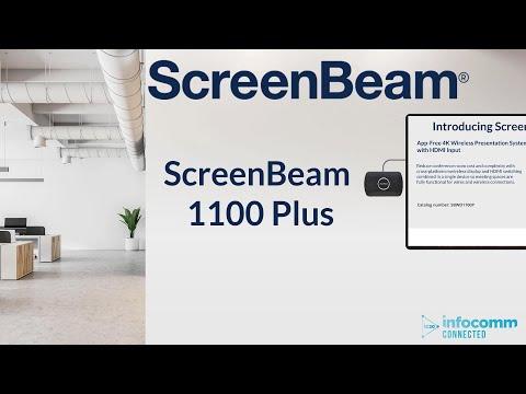 Infocomm Connected ScreenBeam 1100Plus