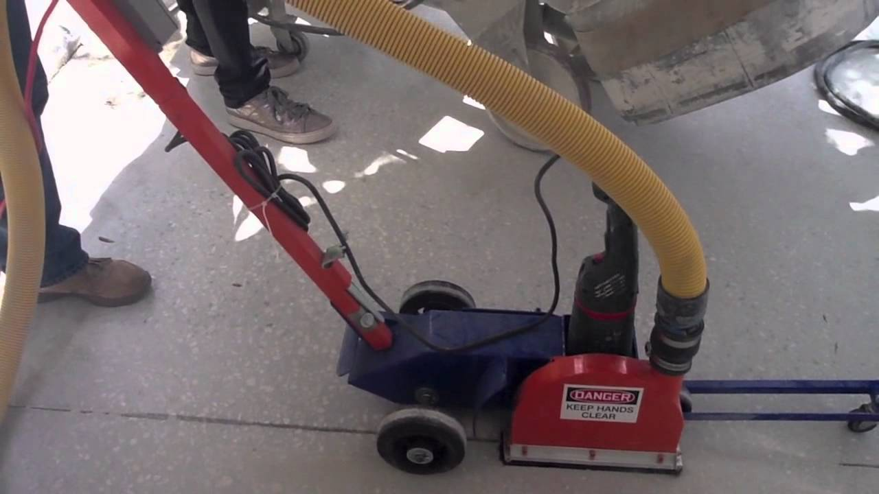 Powerful Concrete Electric Saw Joint Ripper Youtube