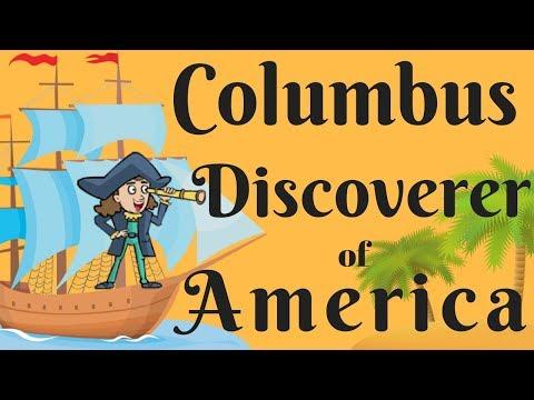 Columbus- Discoverer Of America | Christopher Columbus | Christopher Columbus Voyage To A New World