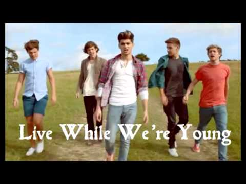 1D - Live While We're Young (Lyrics + Download Link)