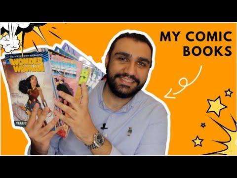 My comic book collection 🦸♂️ أفضل كتب الكومكس