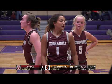 High School Girls Basketball: Anoka Vs. Grand Rapids