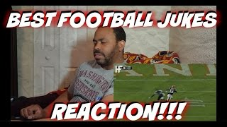 Best Jukes In Football History REACTION!!!