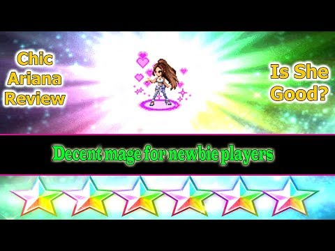 Final Fantasy Brave Exvius Chic Ariana Review: Newbie's Best Friend(#201)