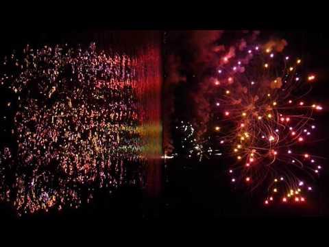 Nanaimo Marine Festival July 2016. Waterfront fireworks