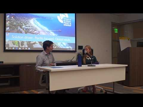UCSD Social Entrepreneurship Talk - School of Global Policy and Strategy