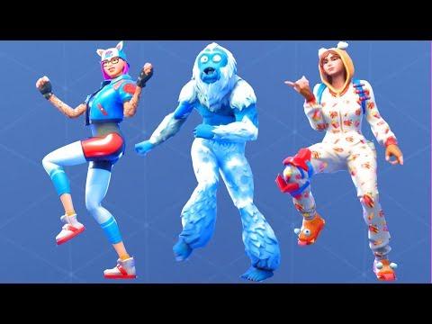 Fortnite All Dances Season 1-7