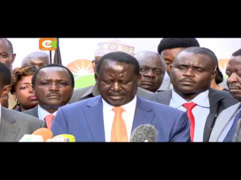 Raila Odinga withdraws from presidential race