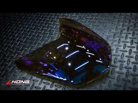 阿鴻部品-四代勁戰鍍鈦大燈護片