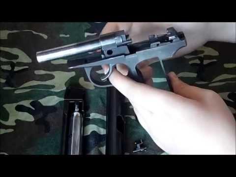 Как собрать пневматический пистолет макарова видео