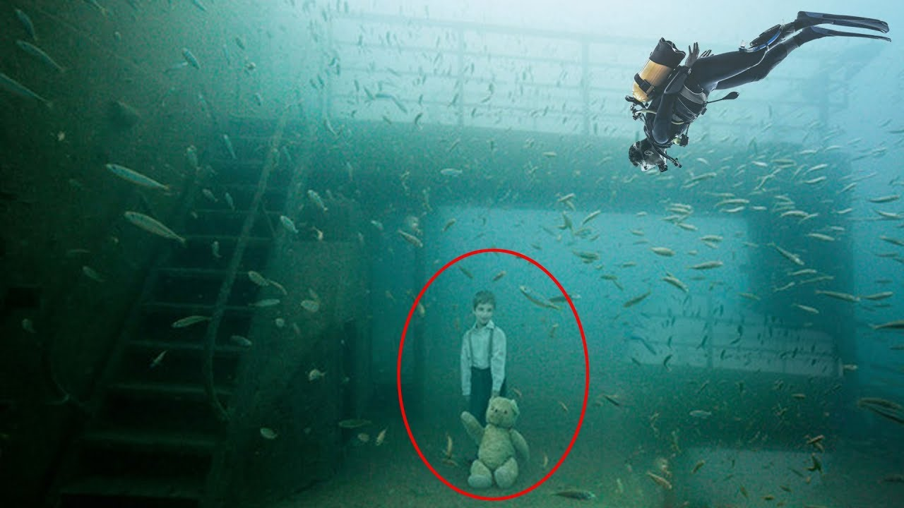5 Mysterious Under Water Ghost Sightings - YouTube