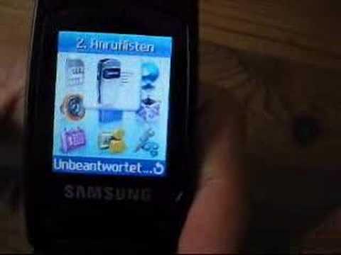 Review Samsung SGH-X200 (German)