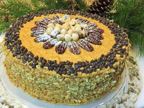 Торт фруктовоореховый
