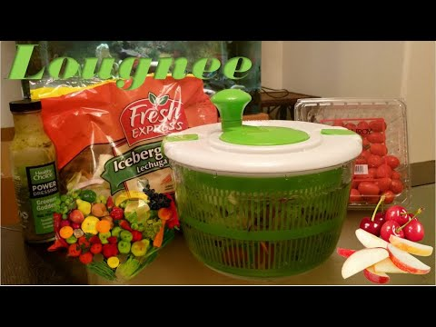 Lougnee Premium Salad Spinner Review | How To Use A Salad Spinner