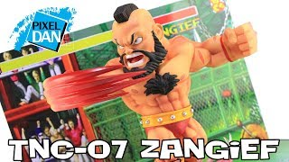 Street Fighter Zangief TNC-07 BigBoysToys Figure with Display Base Video Review