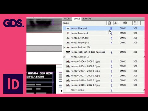 The Links Panel In Adobe InDesign - Ep6/13 [Adobe InDesign For Beginners]