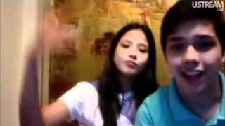 Elmo and Maxene Magalona - Love The Way You Lie (live on UStream)