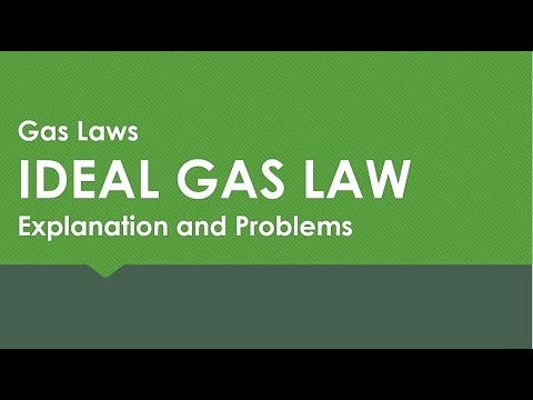 IDEAL GAS LAW: Theory and Problems thumbnail