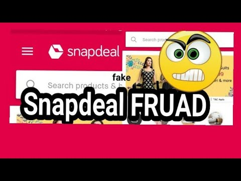 Snapdeal frauds