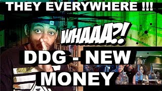 REACTING TO DDG - NEW MONEY (OFFICIAL MUSIC VIDEO) LIT FOR REAL !!!